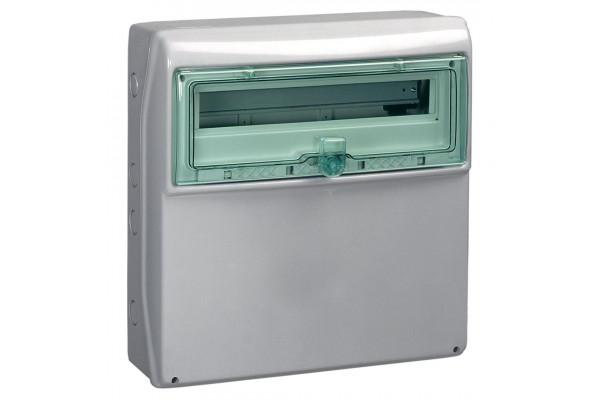 Щит KAEDRA для промислових роз'ємів з плоскою передньою панеллю, 335х340х160, 12+1мод. Schneider Electric 13191