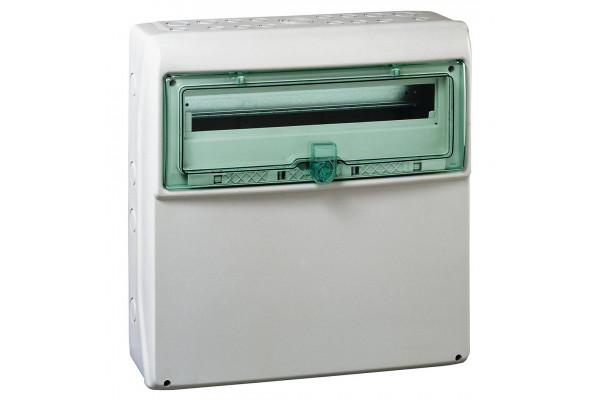 Щит KAEDRA для промислових роз'ємів з плоскою передньою панеллю, 460х448х160, 18+1мод. Schneider Electric 13193