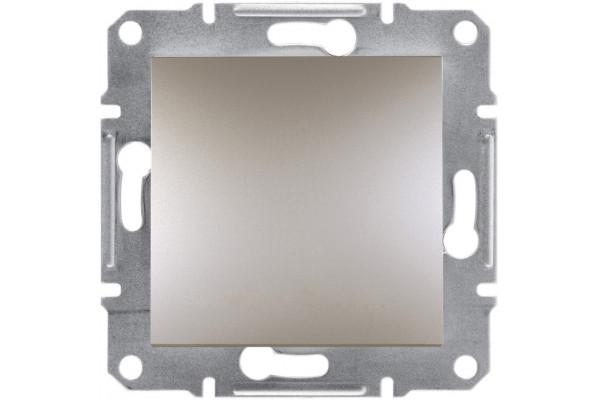 Вимикач зі ступенем захисту IP44, Бронза, Asfora, EPH0100269