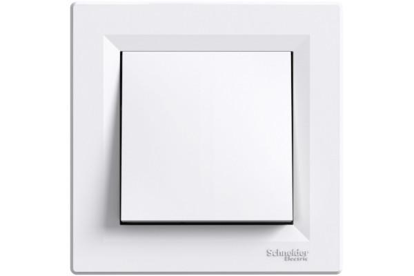 Вимикач одноклавішний перехресний, Білий, Asfora EPH0500121