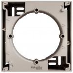 Коробка для зовнішнього монтажу 1-постова, Бронза, Asfora, EPH6100169