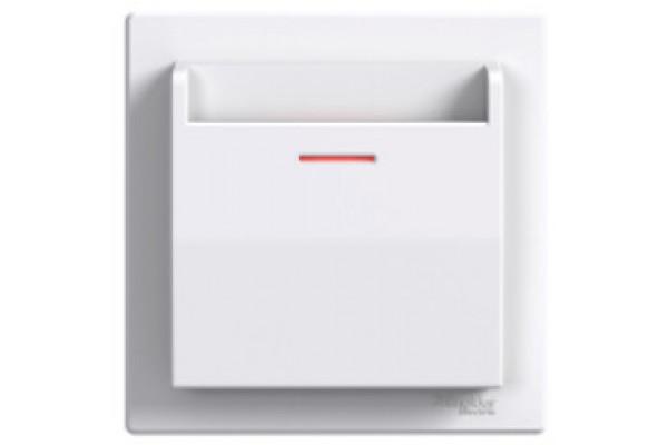 Вимикач картковий, Білий, Asfora EPH6200121