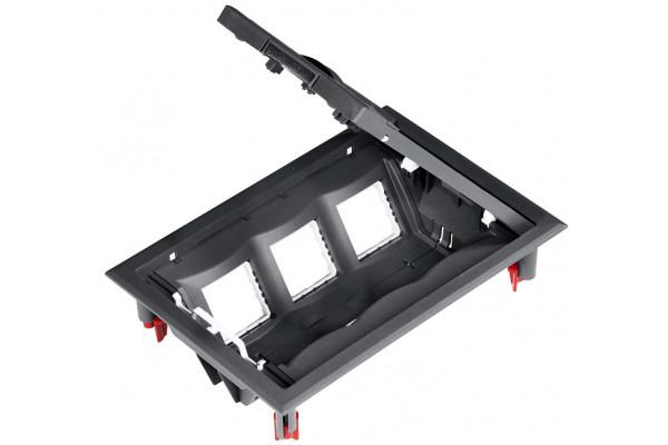 Люк підлоговий для розеток, 12 модулей, ULTRA Schneider Electric ETK44112