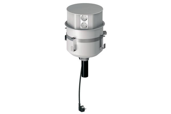 Висувний блок для розеток в стіл, Schneider Electric ISM20346P