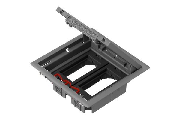 Підлоговий люк для розеток, 8 модулей, OptiLine 45 Schneider Electric ISM50624
