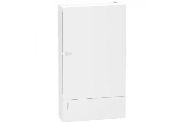 Щит MINI PRAGMA 3ряда/36 модулів, навісний, білі дверцята Schneider Electric MIP12312