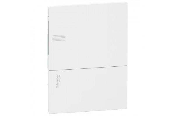 Щит MINI PRAGMA 1ряд/6 модулів, внутрішній, білі дверцята Schneider Electric MIP22106