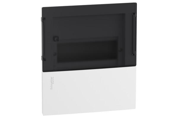 Щит MINI PRAGMA 1ряд/8 модулів, внутрішній, прозорі дверцята Schneider Electric MIP22108S