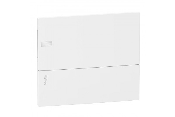 Щит MINI PRAGMA 1ряд/12 модулів, внутрішній, білі дверцята Schneider Electric MIP22112