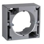 Коробка для зовнішнього монтажу одиночна, Алюміній, Sedna SDN6100160