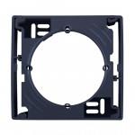 Коробка для зовнішнього монтажу одиночна, Графіт, Sedna SDN6100170