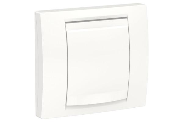 Рамка 1-постова ip44, Білий, Schneider Unica NEW Studio NU044218