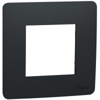 Рамка 1-постова, Антрацит, Schneider Unica NEW Studio NU200254