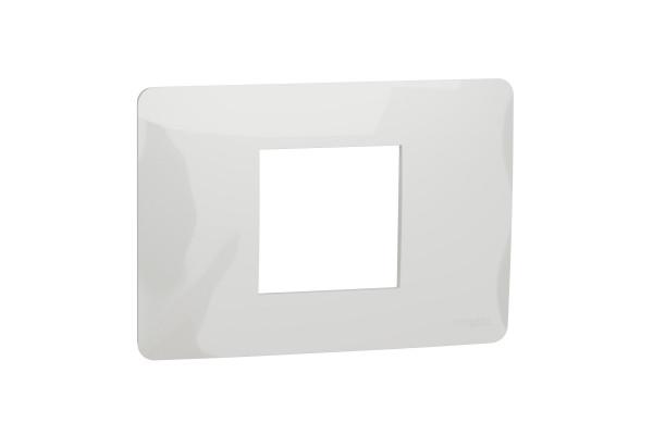 Рамка 2-модульна, Білий, Schneider Unica NEW Studio NU210218