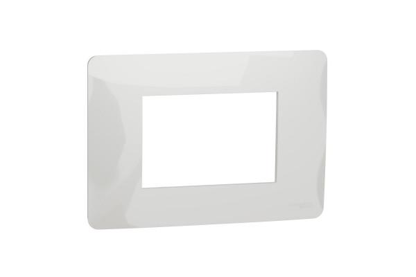 Рамка 3-модульна, Білий, Schneider Unica NEW Studio NU210318