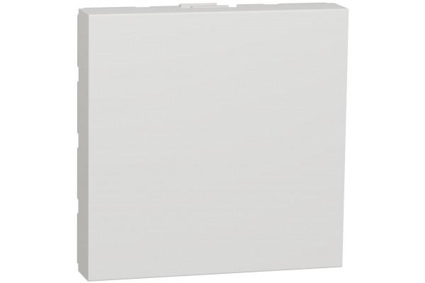 Заглушка, 2 модуля, білий, Unica NEW NU986618